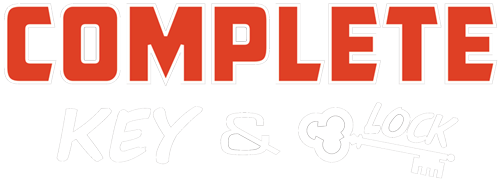 Complete Key and Lock Logo